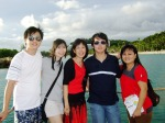 My Family (left to right ~ Jonathan, Ci Agnes, Oku, Me, Mum)